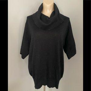 Michael Kors Size Medium Blk Sparkle Sweater